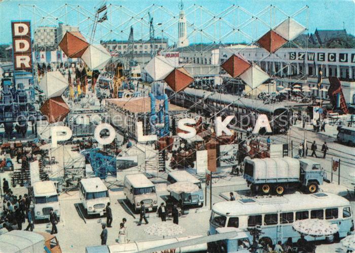 AK / Ansichtskarte Poznan_Posen The International Poznan Fair Poznan Posen