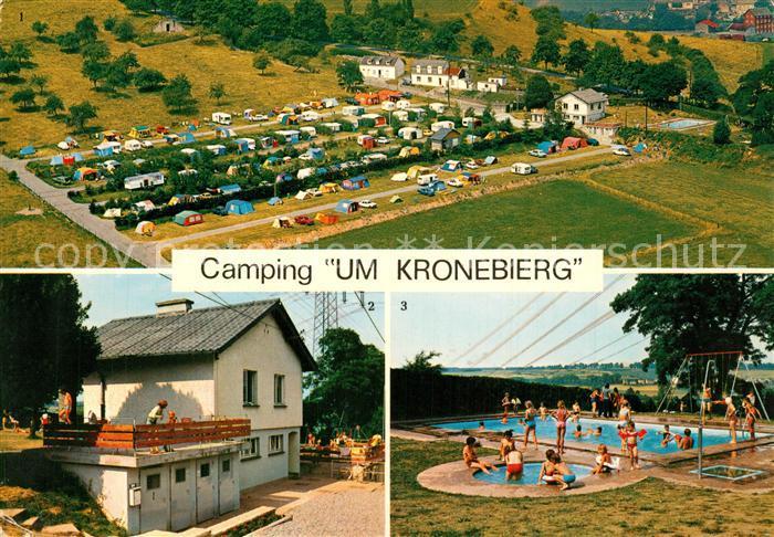 AK / Ansichtskarte Mersch_Luxembourg Camping Um Kronebierg Salle de Sejour Piscine Mersch Luxembourg