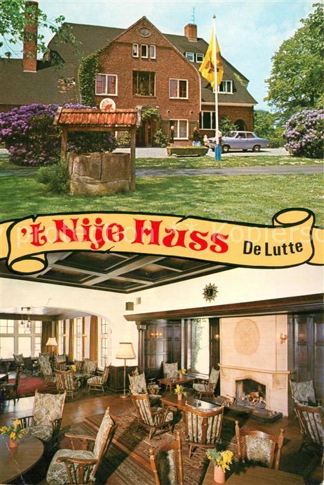 AK / Ansichtskarte De_Lutte Hotel Nije Huss De_Lutte