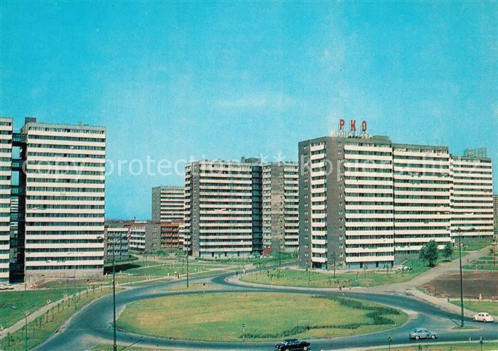 AK / Ansichtskarte Katowice Hochhaus Siedlung PKD Katowice