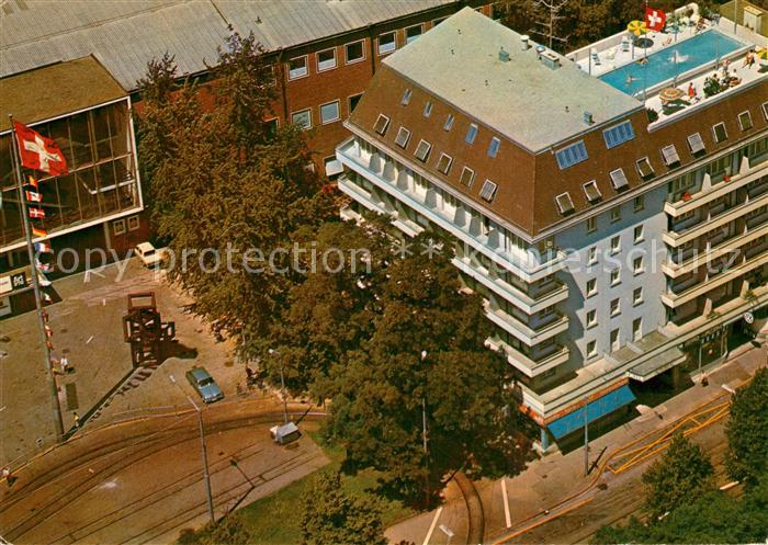 AK / Ansichtskarte Basel_BS Hotel Admiral Basel_BS