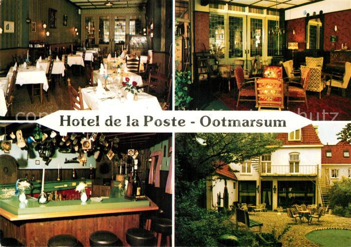 AK / Ansichtskarte Ootmarsum Hotel de la Poste Ootmarsum