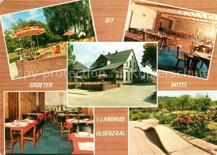 AK / Ansichtskarte Oldenzaal Hotel Cafe Restaurant Landhuis Oldenzaal