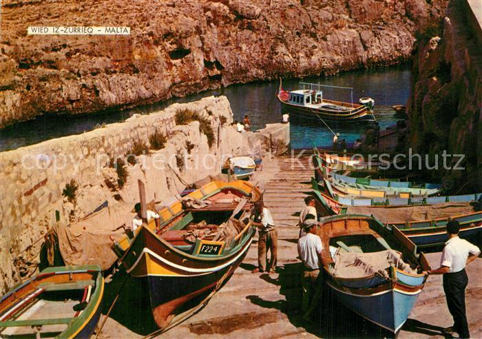 AK / Ansichtskarte Wied_iz Zurrieq Hafen Boote Wied iz Zurrieq