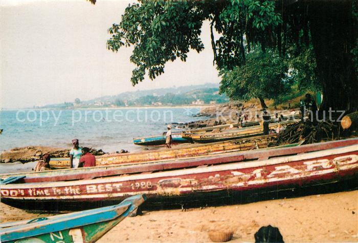 AK / Ansichtskarte Goderich Sierra Leone Goderich
