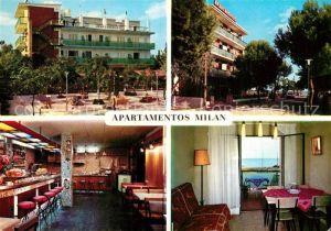 AK / Ansichtskarte Segur_de_Calafell Apartamentos Milan Segur_de_Calafell