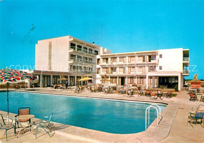 AK / Ansichtskarte Santanyi_Islas_Baleares Hotel Cala Figuera Swimming Pool Santanyi_Islas_Baleares