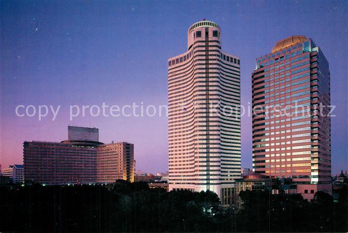 AK / Ansichtskarte Tokyo Hotel New Otani at night Tokyo