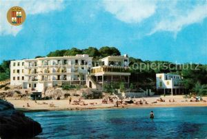 AK / Ansichtskarte Santanyi_Islas_Baleares Playa Hotel Santanyi_Islas_Baleares