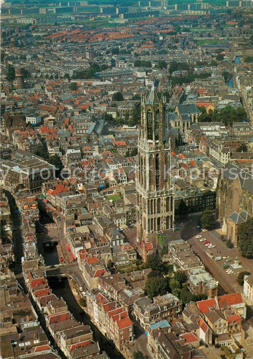 AK / Ansichtskarte Utrecht Dom luchtopname Utrecht