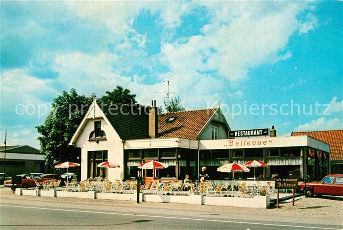 AK / Ansichtskarte Woudenberg Cafe Restaurant Bellevue Woudenberg