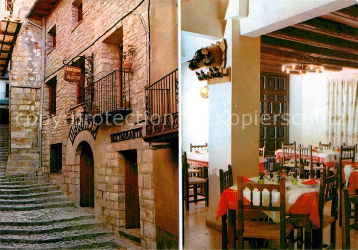 AK / Ansichtskarte Morella Restaurante Discoteca El Meson Pastor Morella