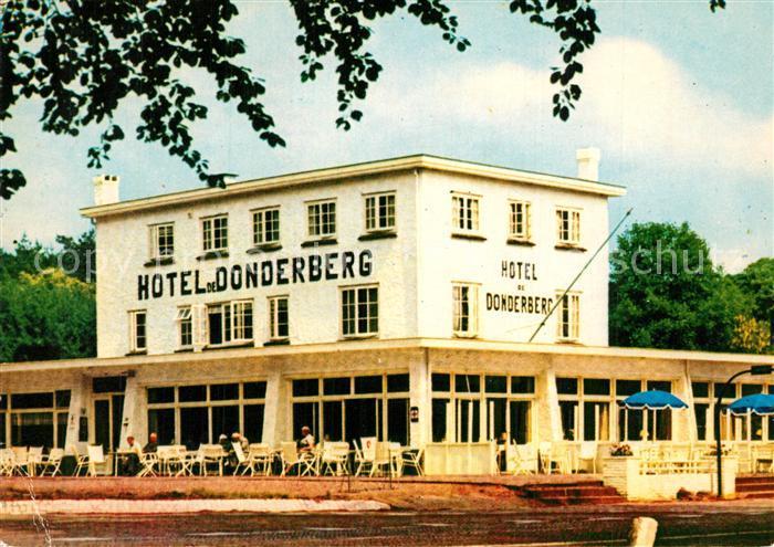 AK / Ansichtskarte Arnhem Hotel de Donderberg Arnhem