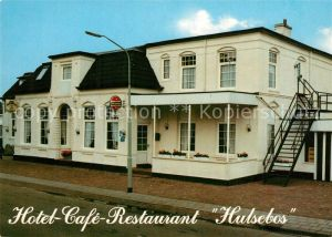 AK / Ansichtskarte Groningen Hotel Cafe Restaurant Hulsebos Zuidbroek Groningen