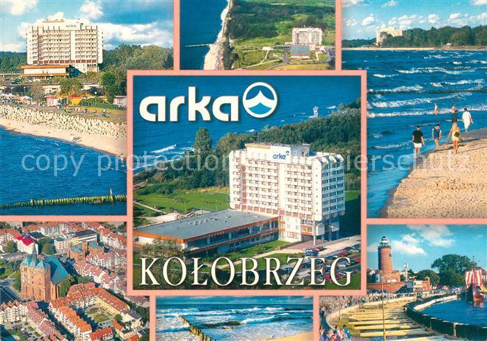 AK / Ansichtskarte Kolobrzeg_Polen Sanatroium Arka Kolobrzeg_Polen