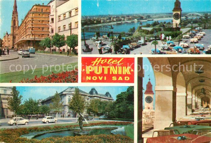 AK / Ansichtskarte Novi_Sad Hotel Putnik  Novi_Sad