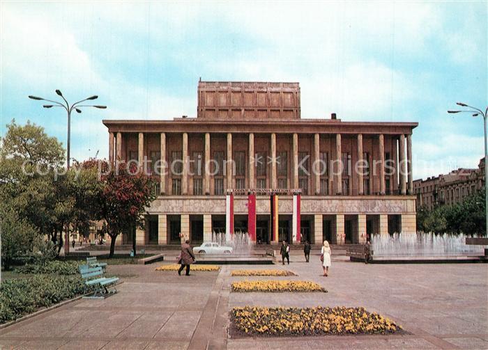 AK / Ansichtskarte Lodz Theater Lodz