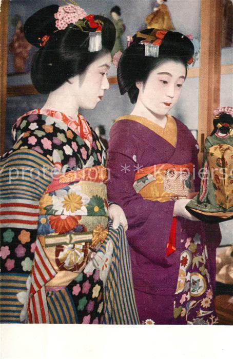 AK / Ansichtskarte Japan Budding Geisha Japan