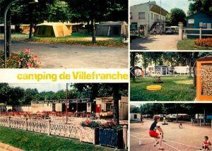 AK / Ansichtskarte Villefranche sur Saone Le Camping Villefranche sur Saone