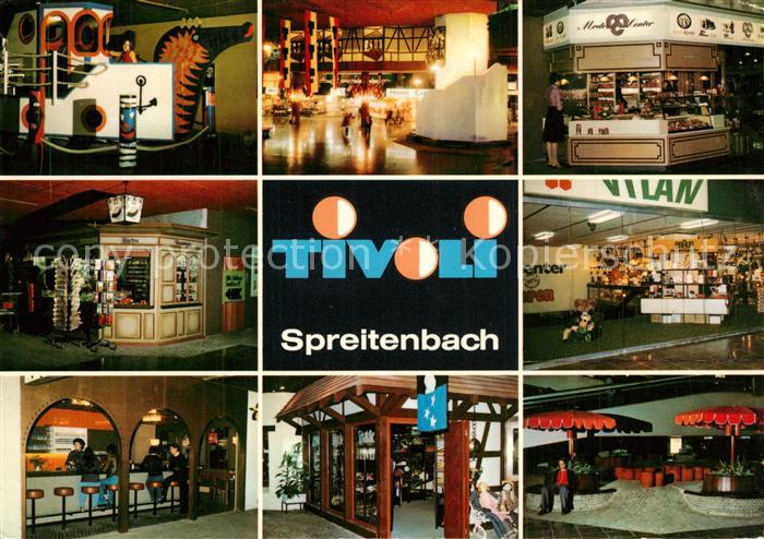 AK / Ansichtskarte Spreitenbach Hotel Tivoli Spreitenbach
