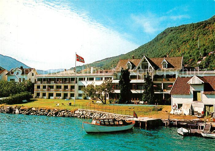AK / Ansichtskarte Sogndal Hofslund Fjord Hotel Sogndal