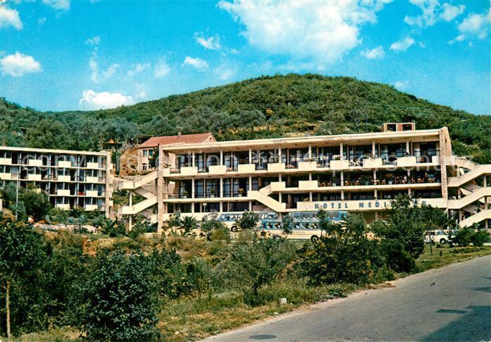AK / Ansichtskarte Ulcinj Hotel Mediteran Ulcinj