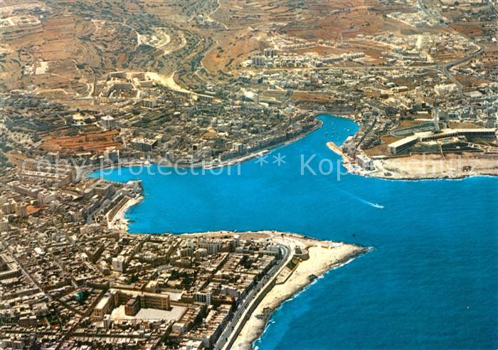 AK / Ansichtskarte Malta Fliegeraufnahme Malta