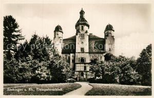 AK / Ansichtskarte Saeckingen_Rhein Trompeterschloss Saeckingen Rhein