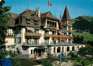 AK / Ansichtskarte Gstaad Grand Hotel Alpina Gstaad