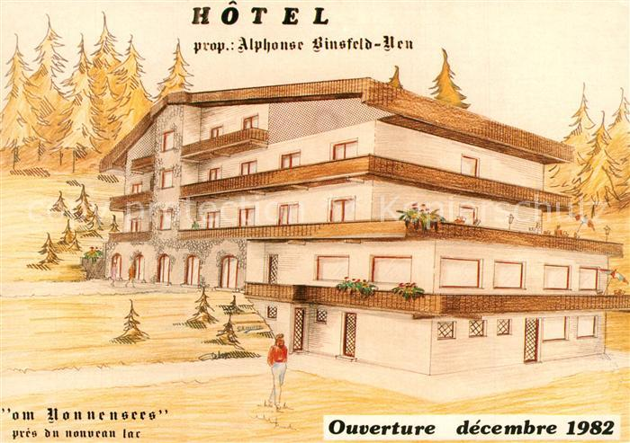 AK / Ansichtskarte Echternach Hotel Eden an Lac Echternach