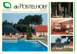 AK / Ansichtskarte Luyksgestel De Postelhoef Vakantiehotel Hotel Restaurant Swimming Pool Wild Luyksgestel
