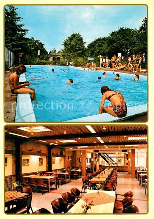 AK / Ansichtskarte Vierhouten Recreatie Centrum De Vier Foreesten Restaurant Swimming Pool Vierhouten