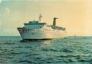 AK / Ansichtskarte Schiffe_Ships_Navires Peter Pan Trelleborg Travem?nde