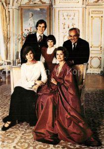 AK / Ansichtskarte Adel_Monaco Prince Souverain Princesse Grace Prince Albert Princesse Caroline et Stephanie Adel Monaco