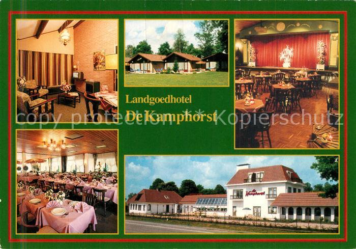 AK / Ansichtskarte Voorthuizen Landgoedhotel De Kamphorst  Voorthuizen