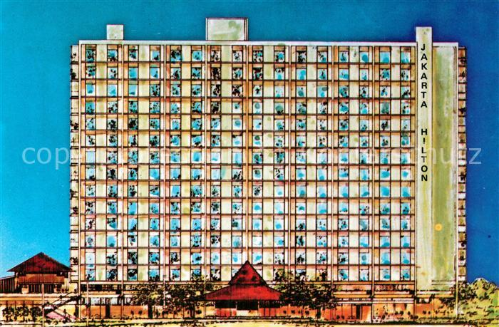 AK / Ansichtskarte Jakarta Hilton Hotel  Jakarta