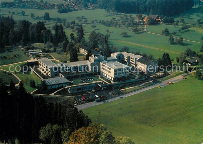 AK / Ansichtskarte St_Gallen_SG Fliegeraufnahme Kurhaus Oberwand St_Gallen_SG