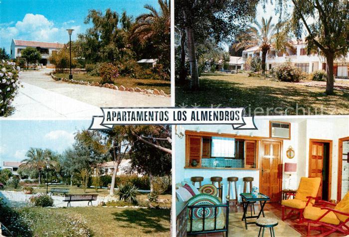 AK / Ansichtskarte Paguera_Mallorca_Islas_Baleares Apartameno Los Almendros Paguera_Mallorca