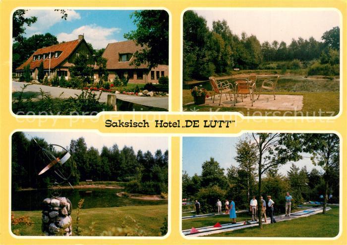 AK / Ansichtskarte De_Lutte Hotel Restaurant De Lutt Minigolf De_Lutte
