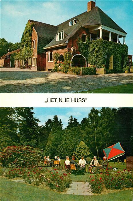 AK / Ansichtskarte De_Lutte Het Nije Huss Garten De_Lutte