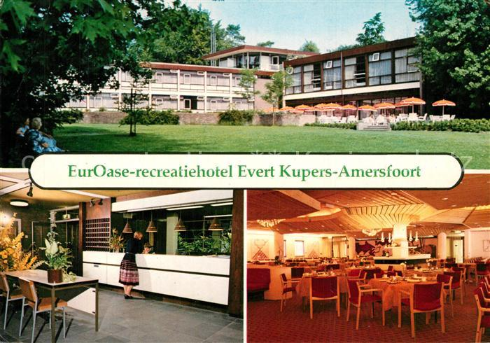 AK / Ansichtskarte Amersfoort EurOase recreatiehotel Evert Kupers Rezeption Restaurant Amersfoort