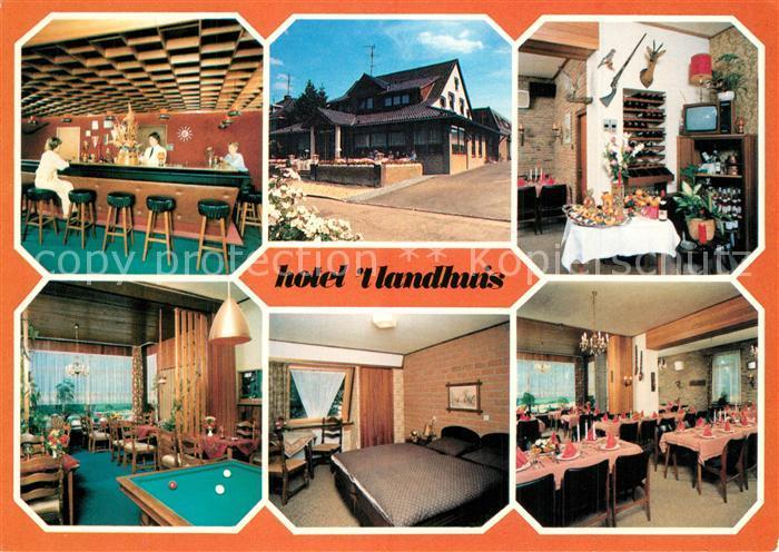 AK / Ansichtskarte Oldenzaal Hotel Cafe Restaurant  t Landhuis Oldenzaal