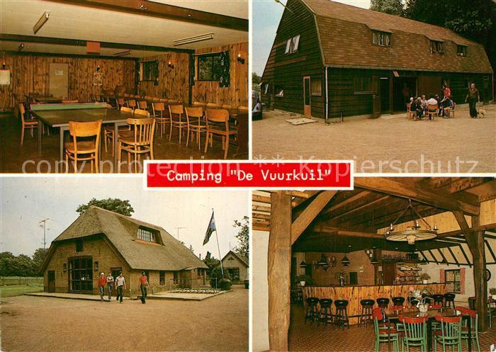 AK / Ansichtskarte Hulshorst Camping De Vuurkuil Gaststaette Hulshorst