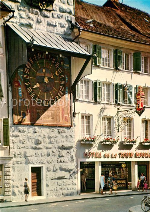 AK / Ansichtskarte Solothurn Zeitglockenturm Solothurn