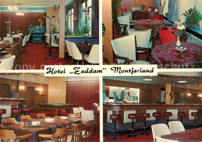 AK / Ansichtskarte Zeddam Hotel Pension Zeddam Restaurant Bar Zeddam
