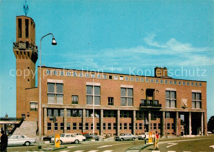 AK / Ansichtskarte Hengelo Stadhuis Rathaus Hengelo