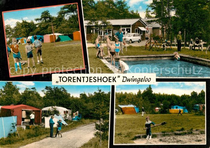 AK / Ansichtskarte Dwingeloo Camping Torentjeshoek Swimming Pool Dwingeloo