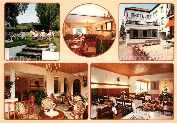 AK / Ansichtskarte Houthem_Valkenburg Hotel Pension Stijnen Restaurant Garten Houthem Valkenburg