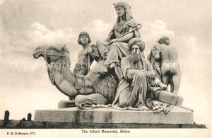 AK / Ansichtskarte Denkmal Albert Memorial Africa  Denkmal