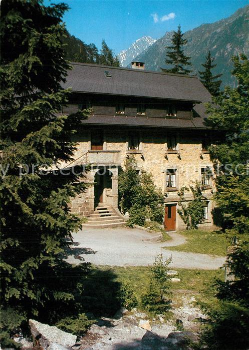 AK / Ansichtskarte Wassen_UR Ferienhaus Schanz Alpen Wassen_UR